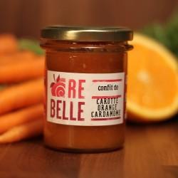 Confit de carotte orange cardamone