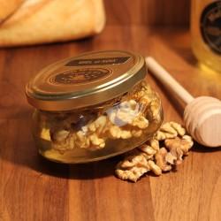 Miel d'Acacia et créneaux de Noix 250G
