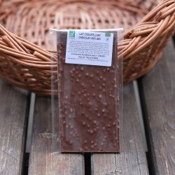 Chocolat bio lait croustillant