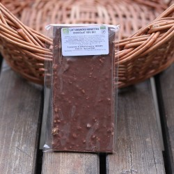 Chocolat Bio lait noisette
