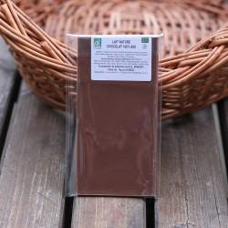 Chocolat bio lait nature